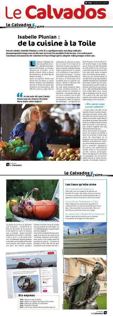Le Calvados Magazine N°118 Hiver 2015